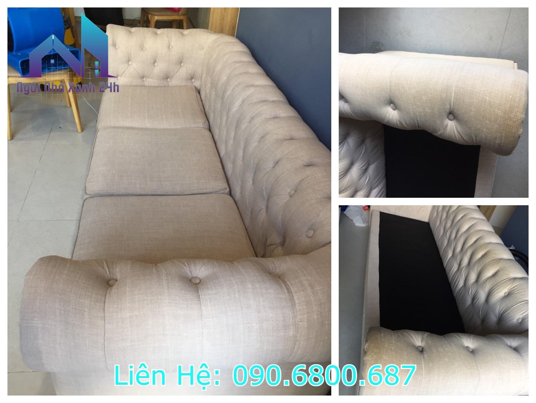 Vệ sinh ghế sofa vải quận 1