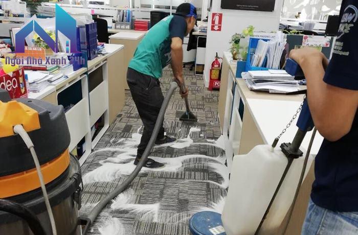 Giặt thảm tại nhà quận 12