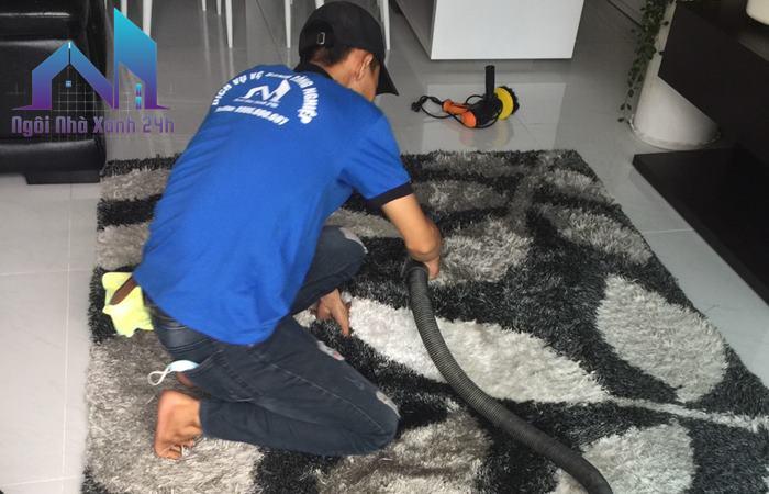 Giặt thảm tại nhà quận 7