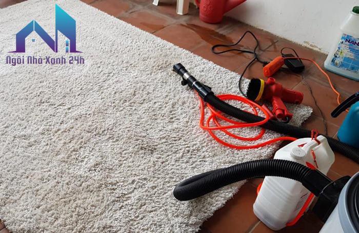 Giặt thảm tại nhà quận 9