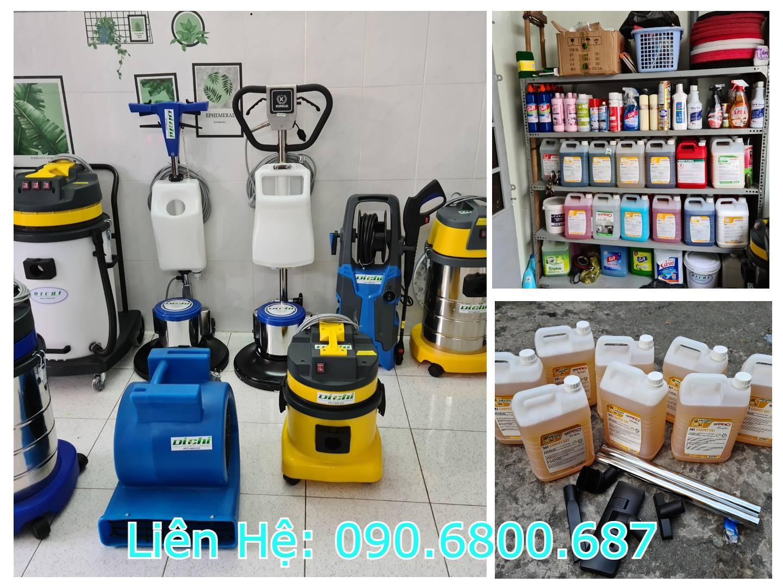 Máy giặt thảm công nghiệp và dung dịch vệ sinh thảm