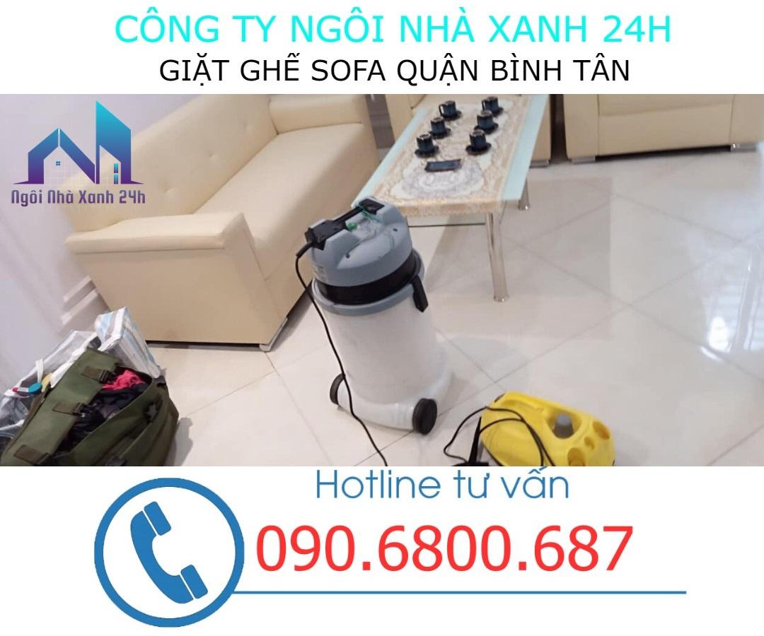 Bao lâu nên giặt ghế sofa tại quận Bình Tân