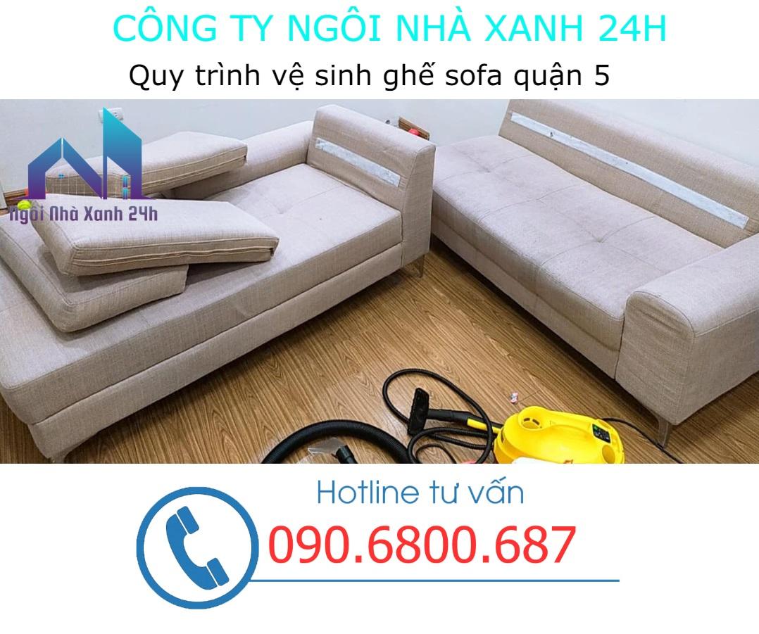 Các bước giặt ghế sofa quận 5 - Sofa vải (2)