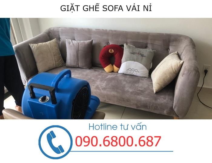 Cách giặt ghế sofa tại quận 3