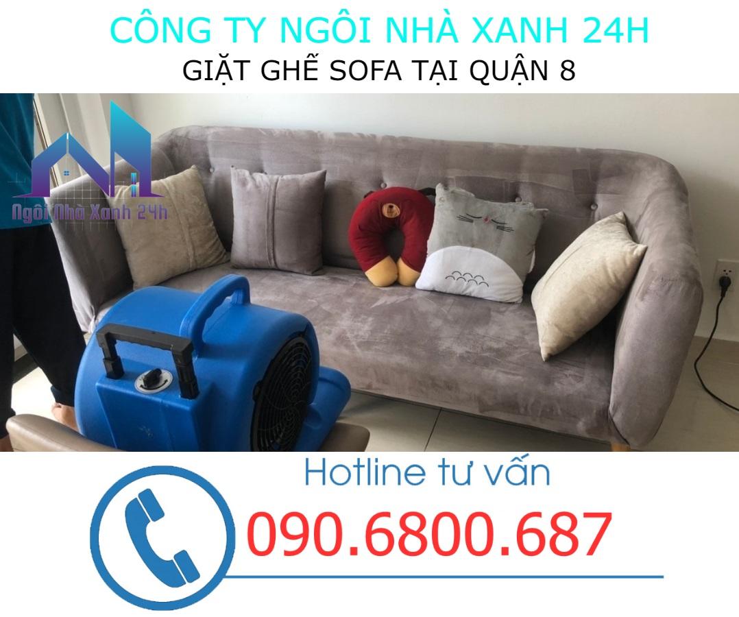 Cách làm sạch ghế sofa quận 8