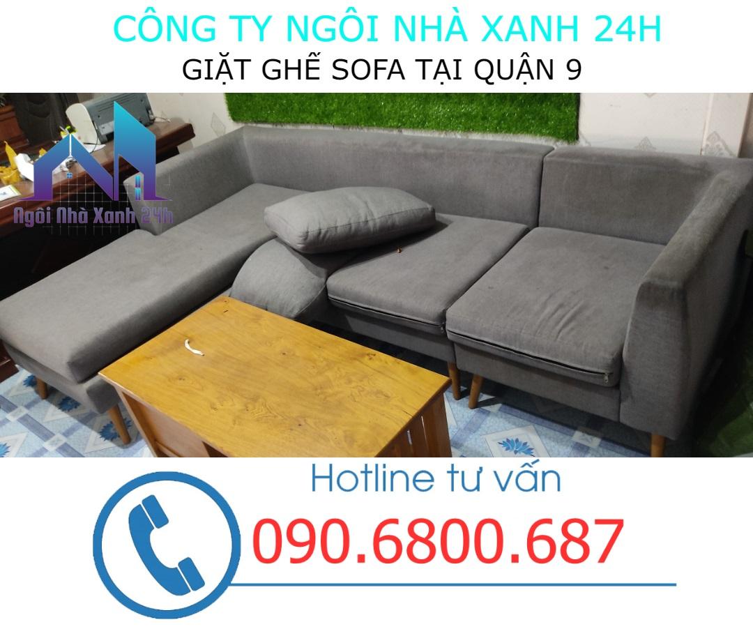 Cách làm sạch ghế sofa quận 9