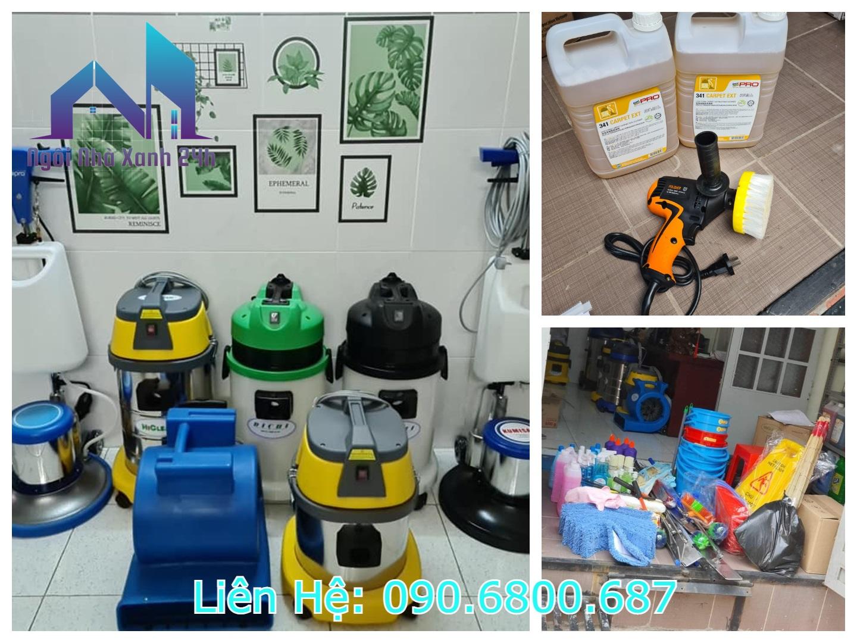 Dụng cụ và máy móc vệ sinh công nghiệp