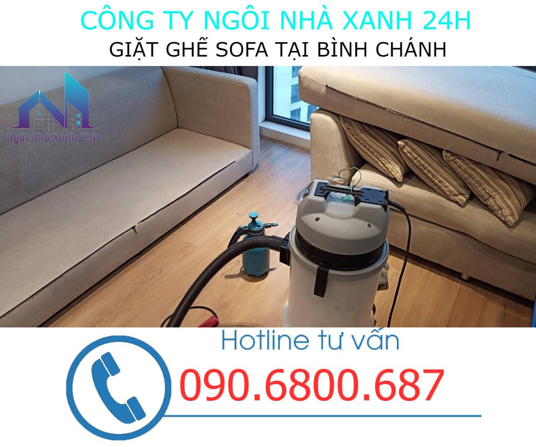 Giặt ghế sofa quận Bình Chánh định kỳ