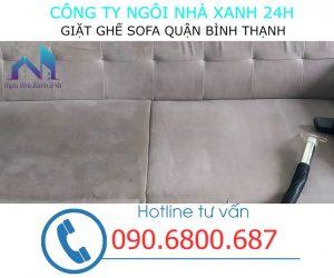 Giặt ghế sofa quận Bình Thạnh định kỳ
