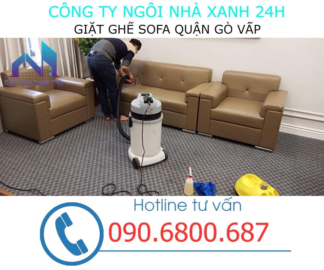 Giặt ghế sofa tại Gò Vấp định kỳ