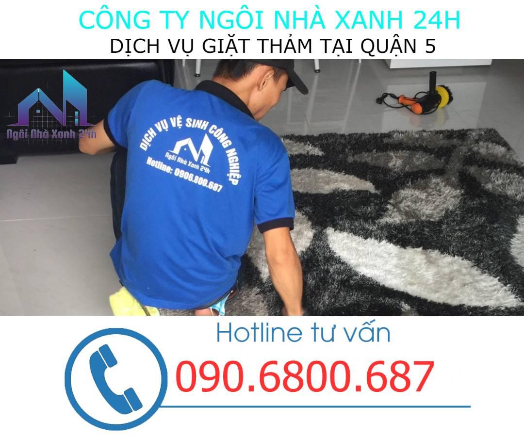 Giặt thảm tại nhà quận 5- Thảm trang trí