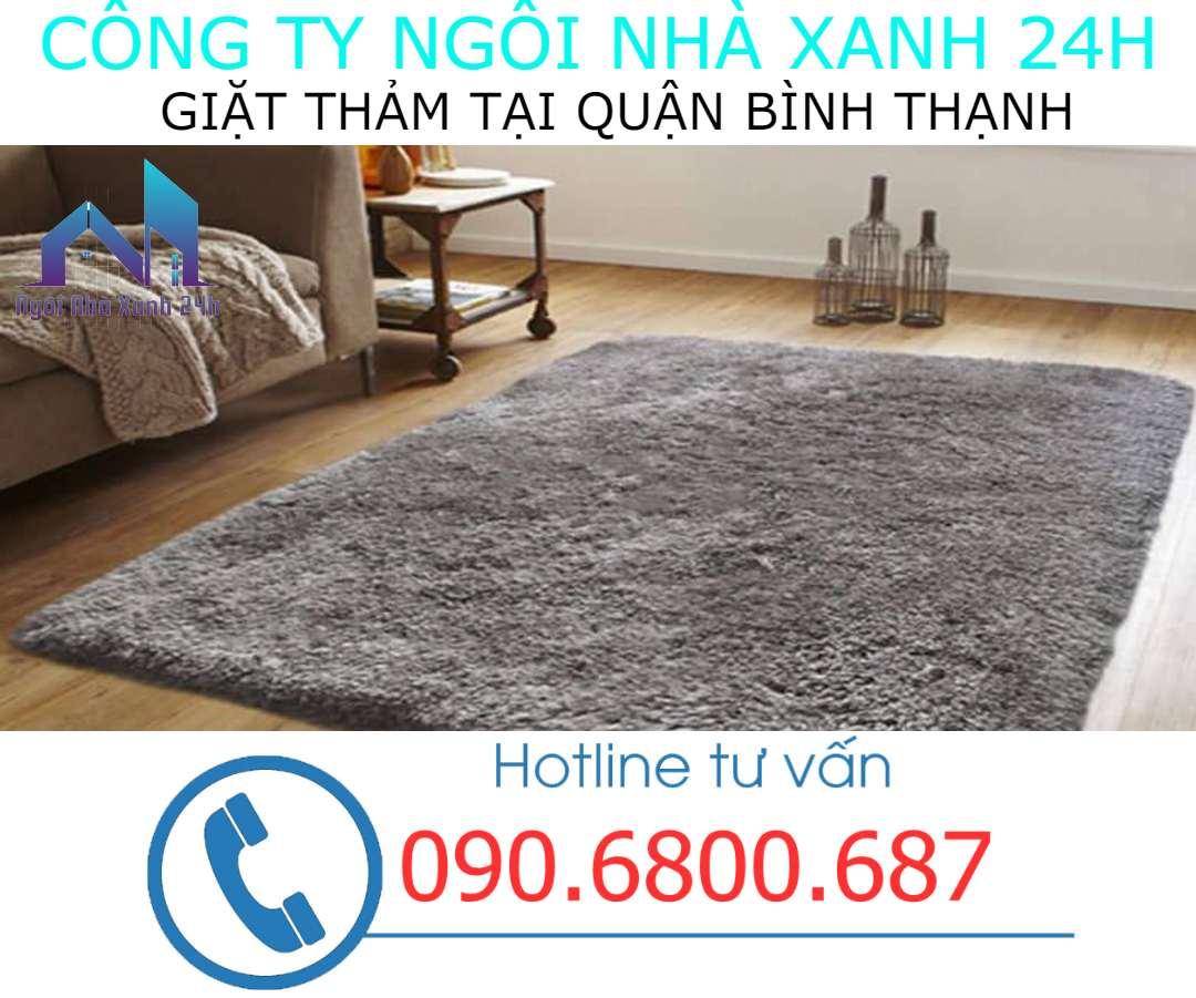 Giặt thảm tại nhà quận Bình Thạnh- Thảm trang trí