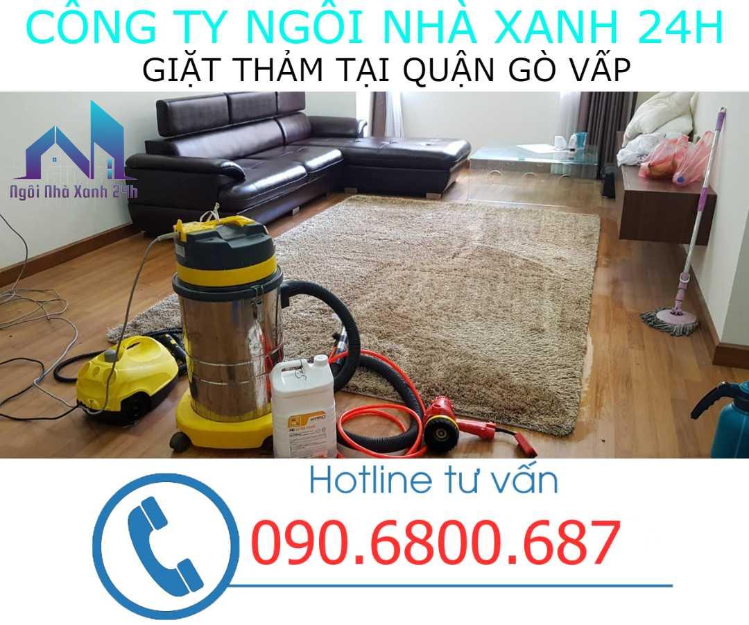 Giặt thảm tại nhà quận Gò Vấp- Thảm trang trí