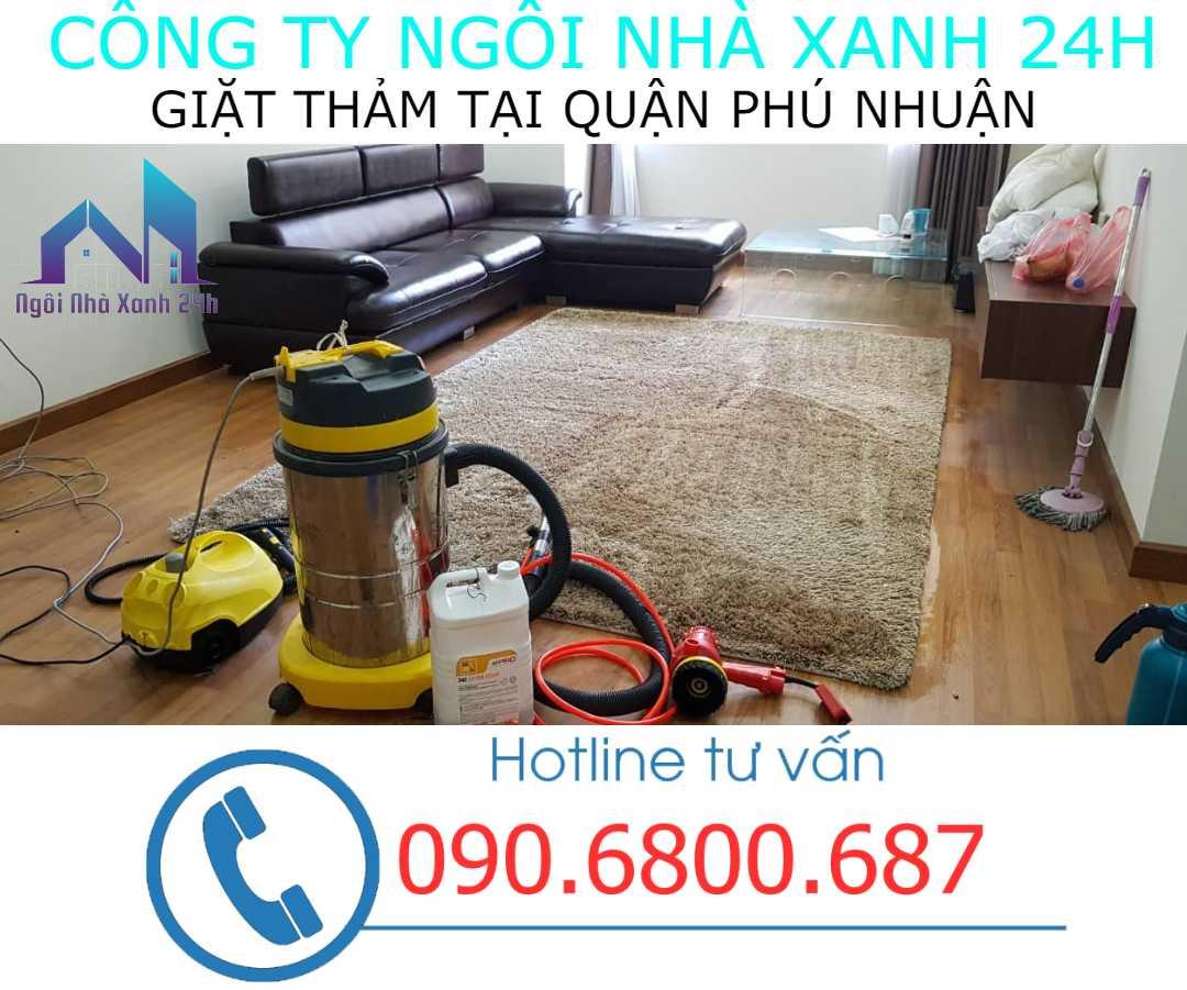 Giặt thảm tại nhà quận Phú Nhuận- Thảm trang trí