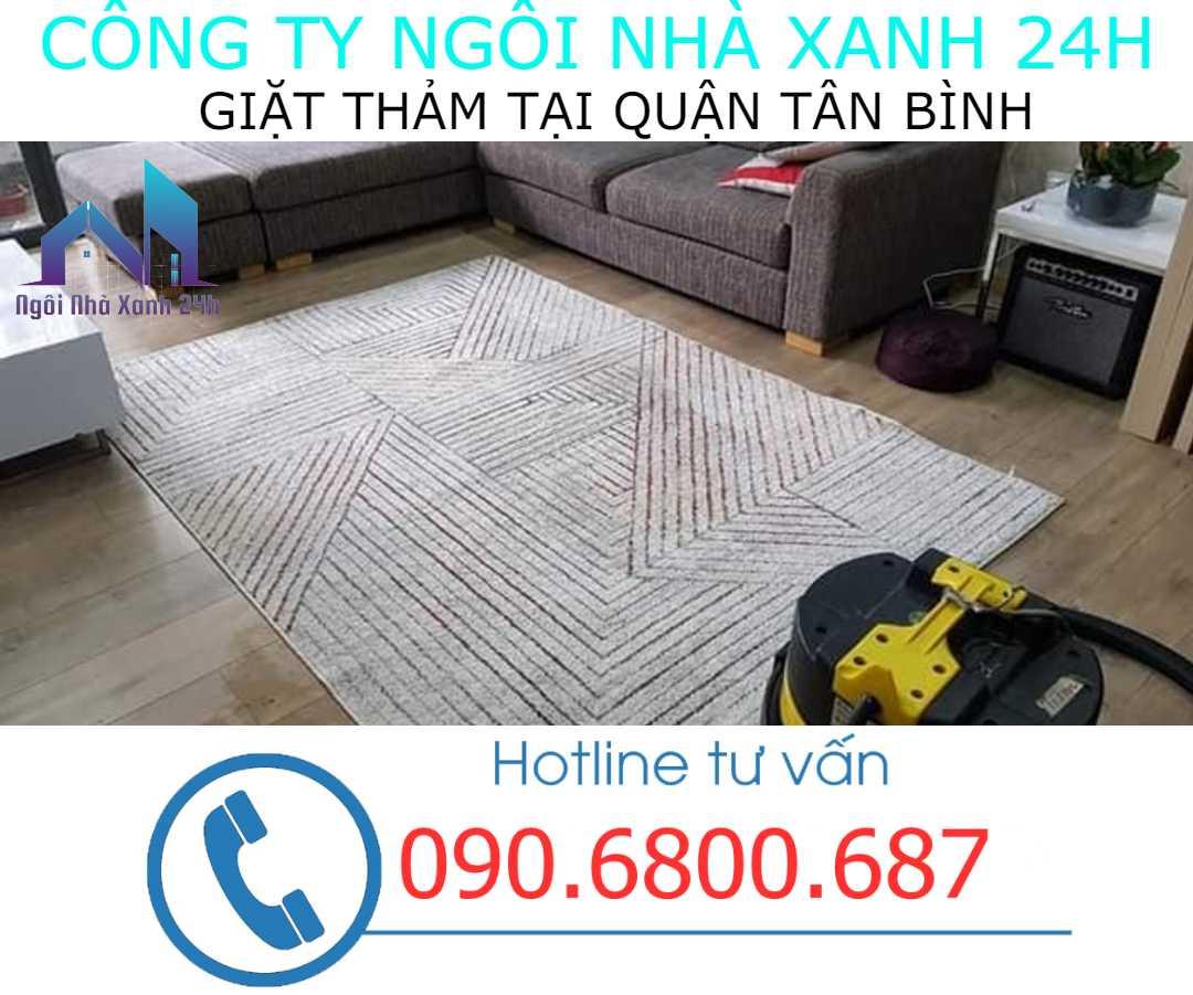 Giặt thảm tại nhà quận Tân Bình- Thảm trang trí