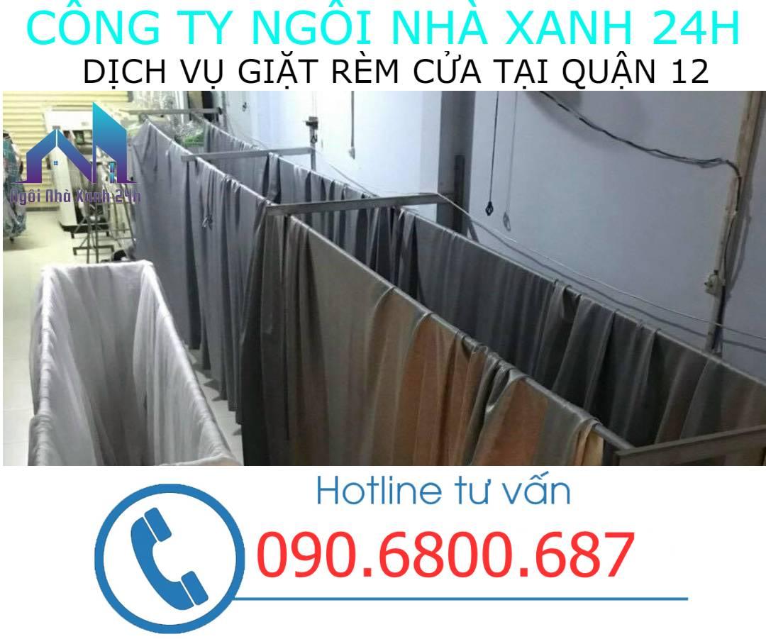 Hệ thống phơi giặt màn tại nhà quận 12