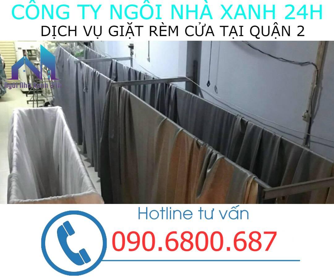 Hệ thống phơi giặt màn tại nhà quận 2