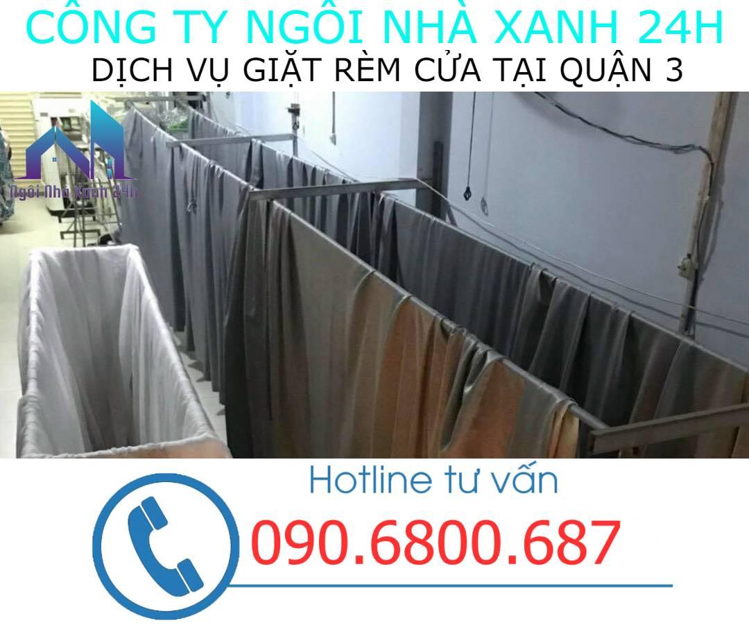 Hệ thống phơi giặt màn tại nhà quận 3