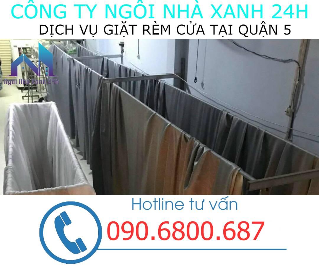 Hệ thống phơi giặt màn tại nhà quận 5