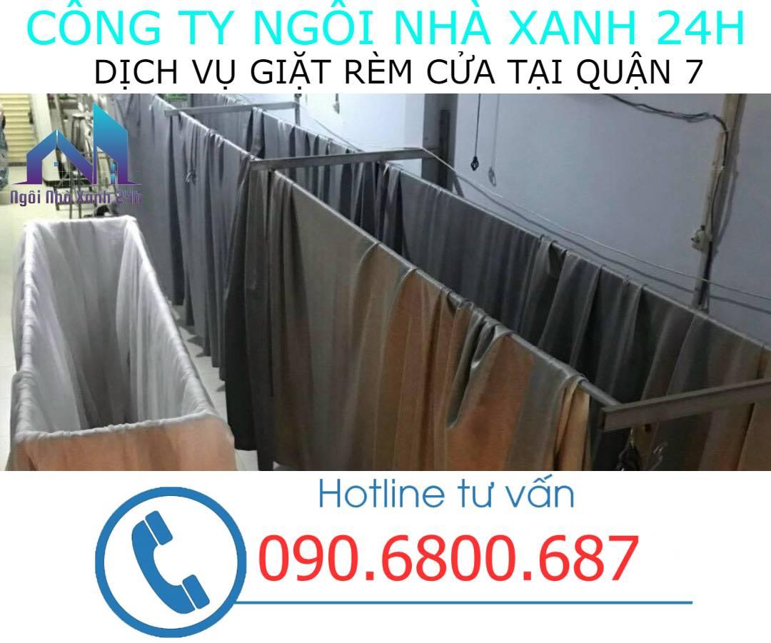 Hệ thống phơi giặt màn tại nhà quận 7