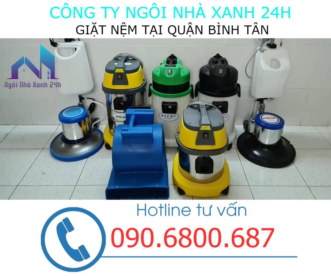 Hóa chất vệ sinh nệm quận Bình Tân