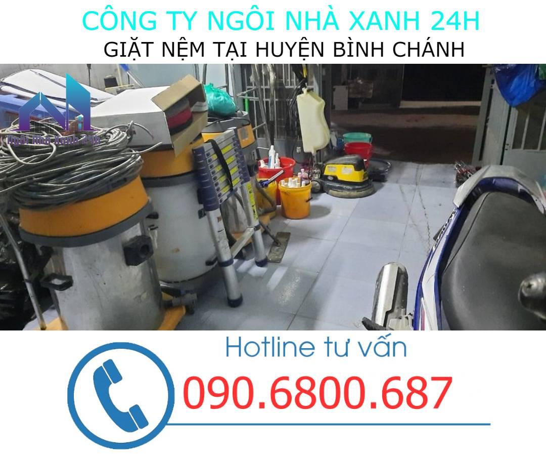 Máy giặt nệm tại huyện Bình Chánhcông nghiệp