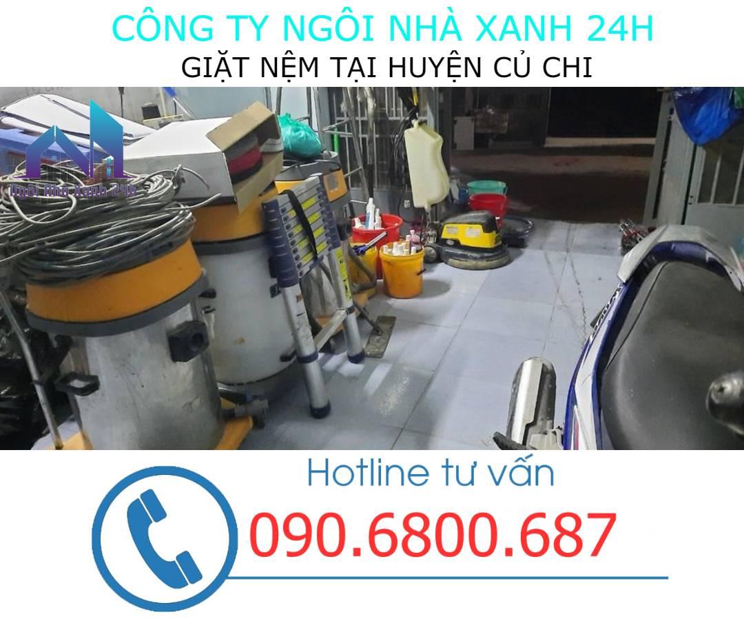 Máy giặt nệm tại huyện Củ Chicông nghiệp