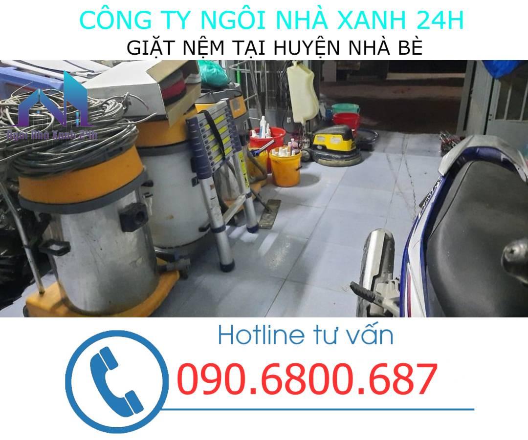 Máy giặt nệm tại huyện Nhà Bècông nghiệp