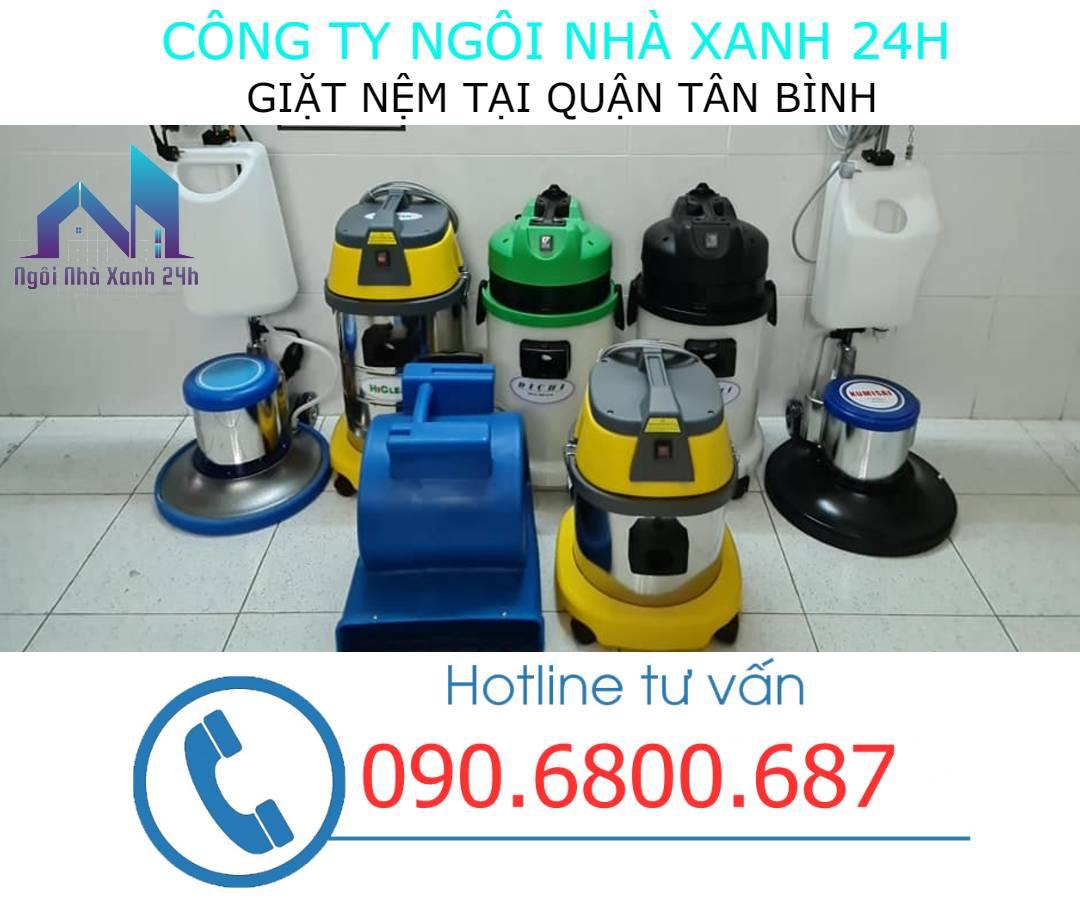 Máy giặt nệm tại quận Tân Bình