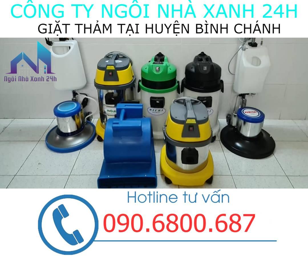 Máy vệ sinh thảm Huyện Bình Chánhhiện đại
