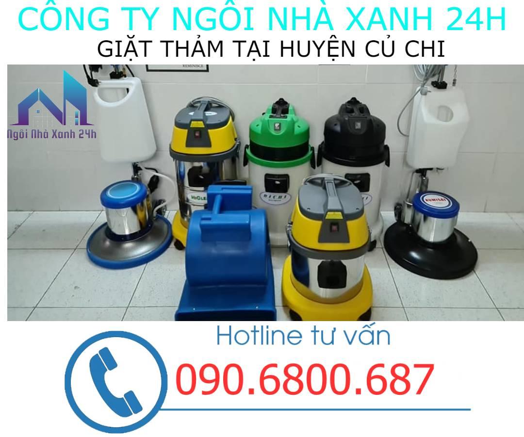 Máy vệ sinh thảm Huyện Củ Chihiện đại