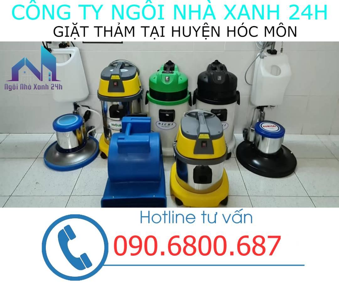 Máy vệ sinh thảm Huyện Hóc Mônhiện đại