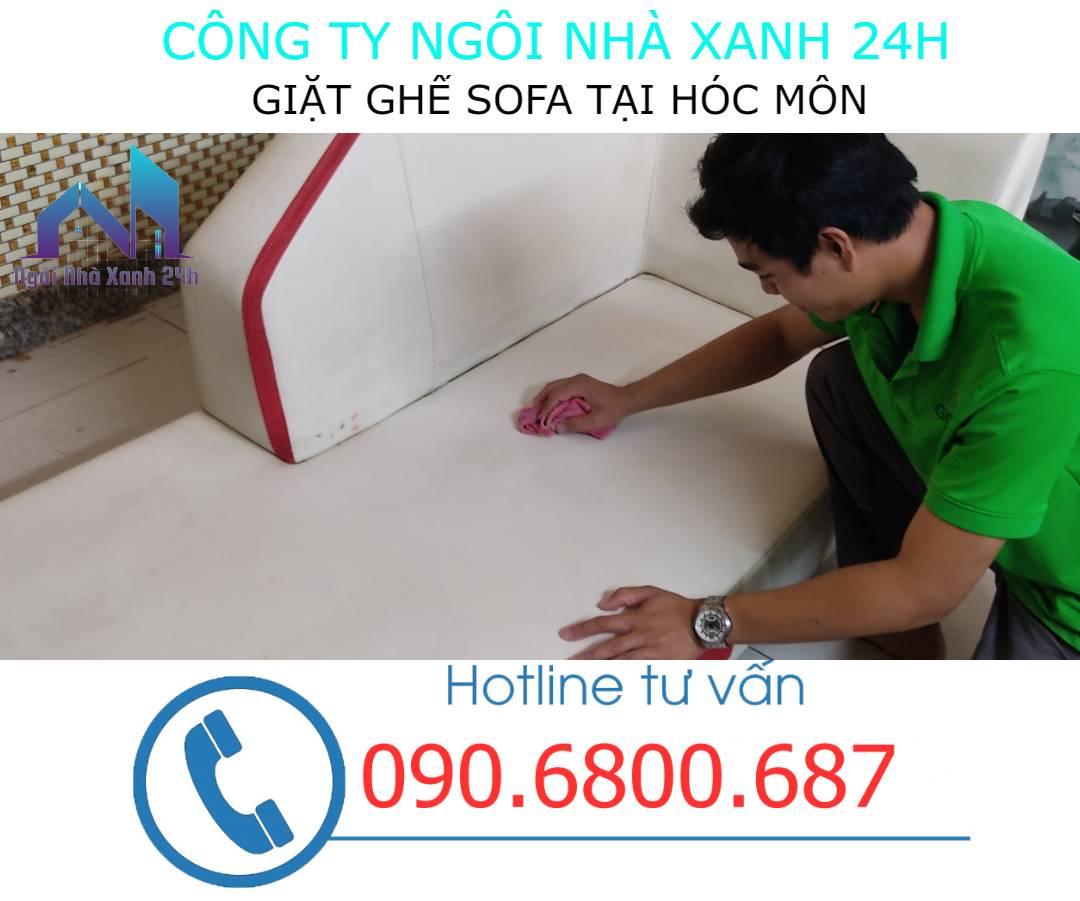 Quy trình giặt ghế sofa da tại Hóc Môn