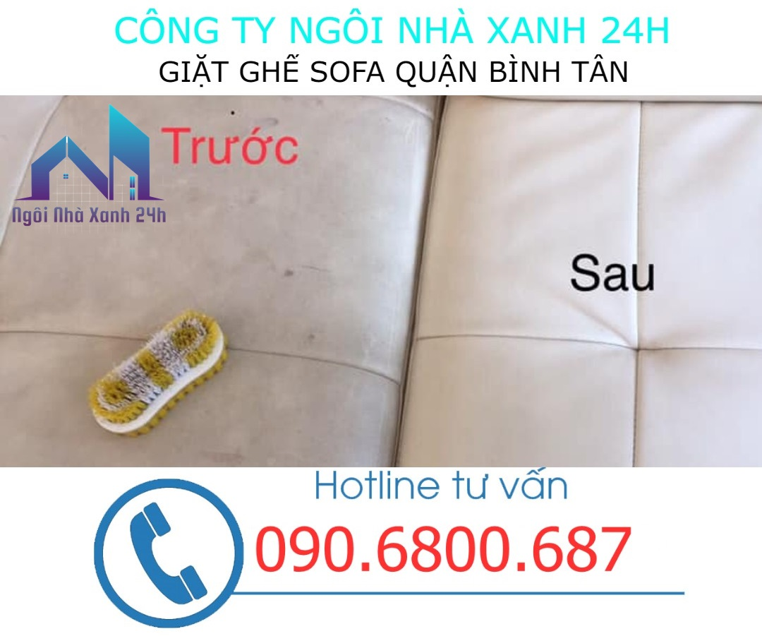 Quy trình giặt ghế sofa da tại quận Bình Tân
