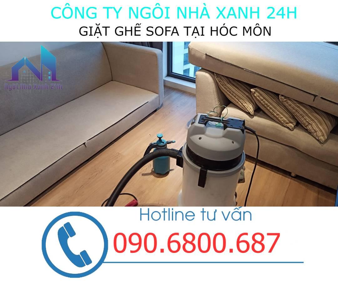 Quy trình giặt ghế sofa tại Hóc Môn
