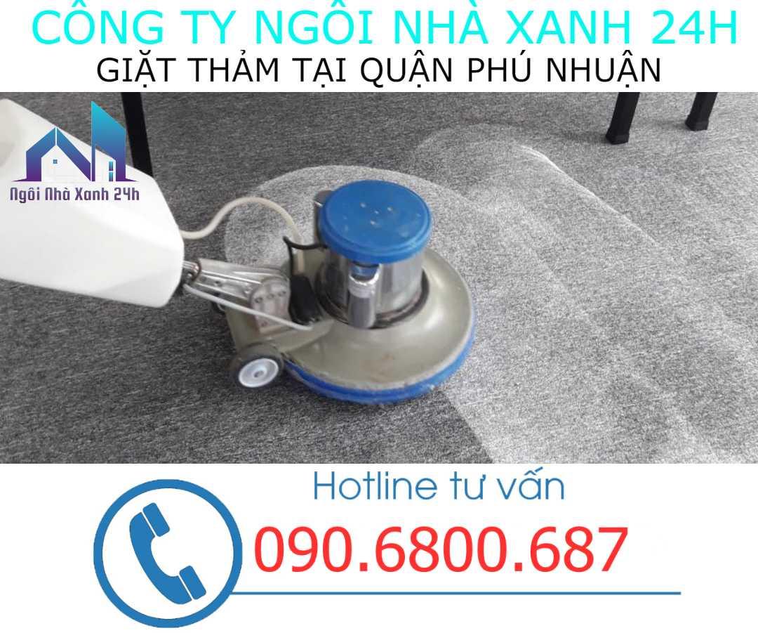 Vệ sinh thảm tại quận Phú Nhuận- Thảm văn phòng