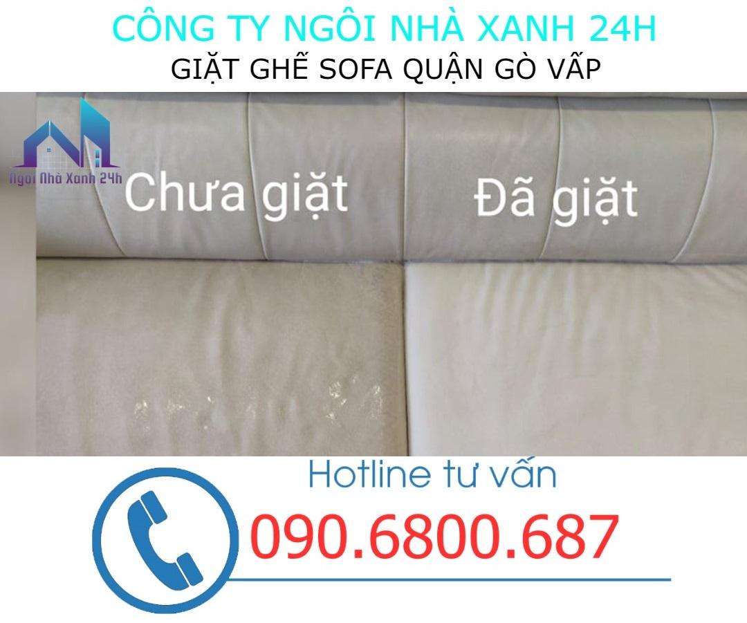 giặt ghế sofa da tại quận Gò Vấp