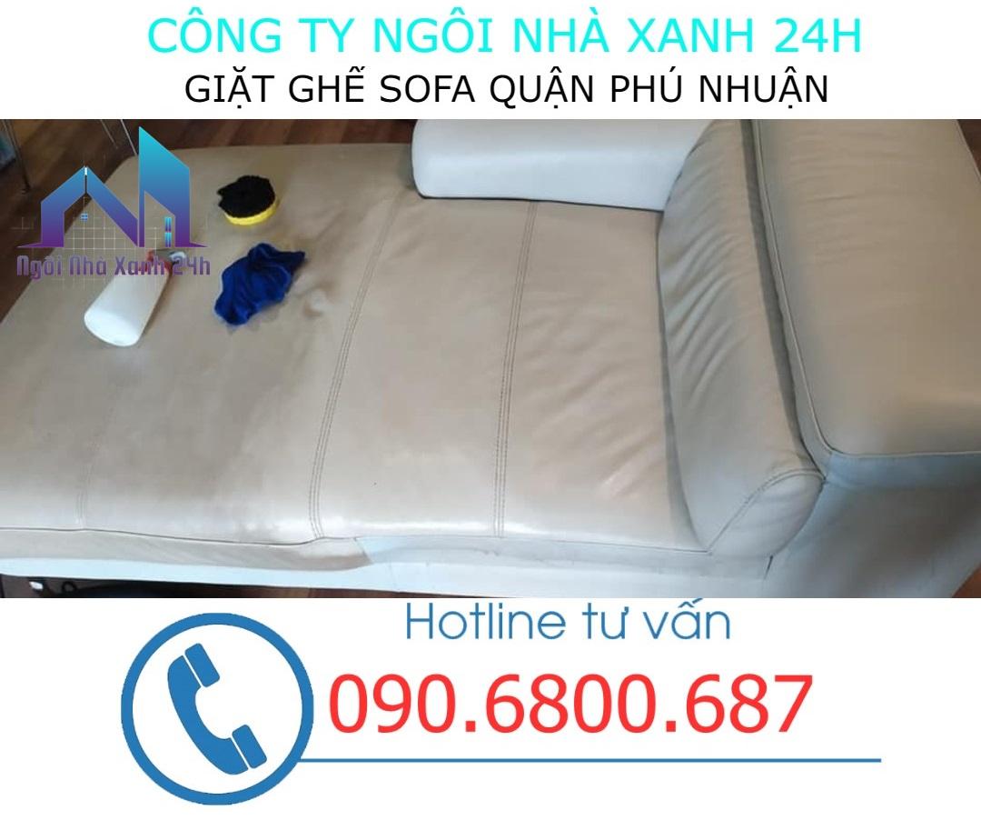 giặt ghế sofa da tại quận Phú Nhuận