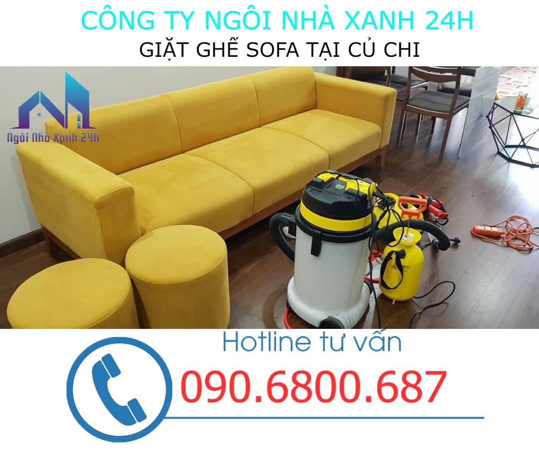 giặt ghế sofa tại Huyện Củ Chi