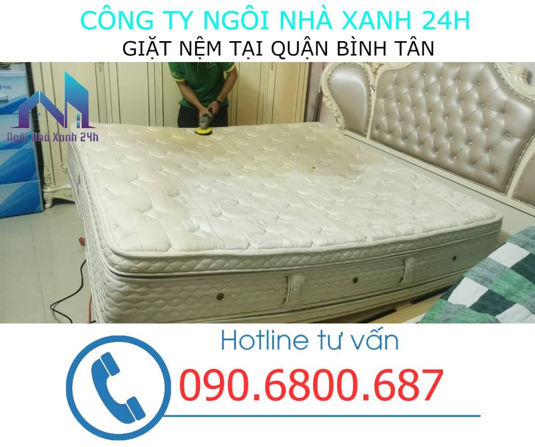 vệ sinh nệm quận Bình Tân uy tín