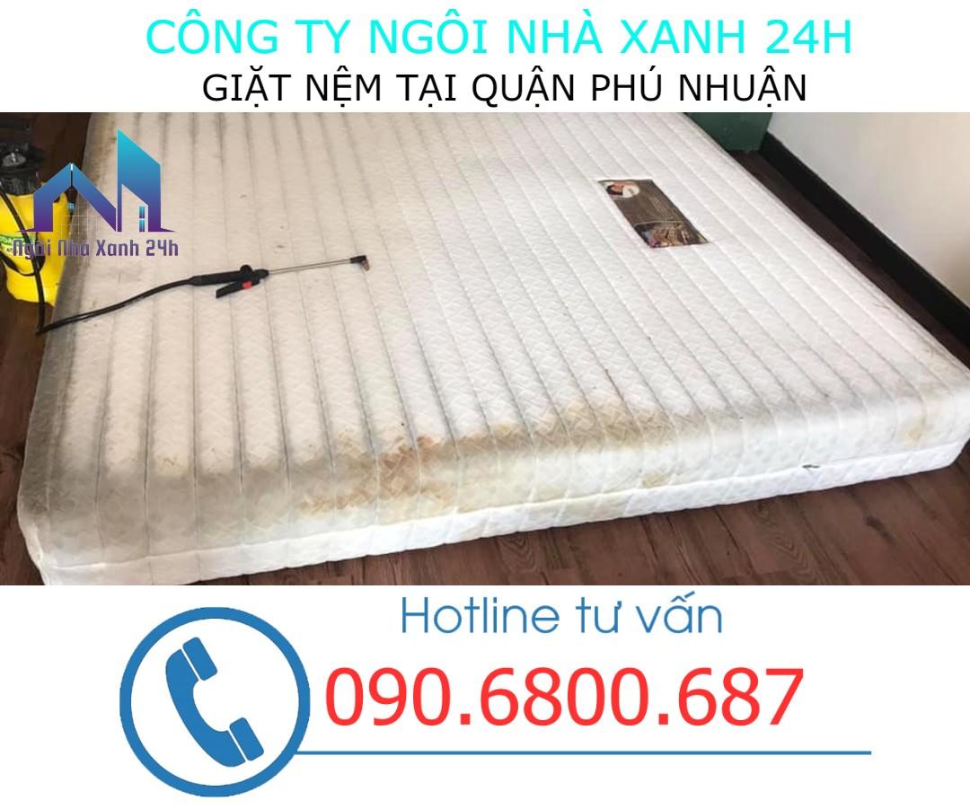 vệ sinh nệm quận Phú Nhuận uy tín