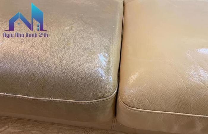 Cách làm sạch ghế sofa da
