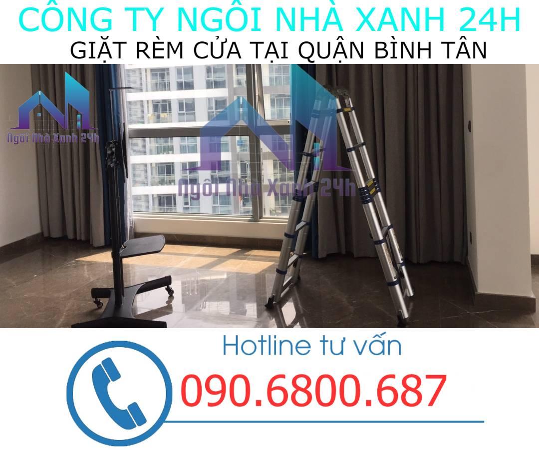 Cam kết chất lượng dịch vụ giặt rèm tại quận Bình Tân
