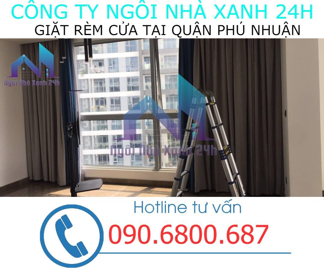 Cam kết chất lượng dịch vụ giặt rèm tại quận Phú Nhuận