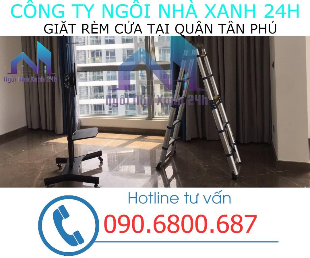 Cam kết chất lượng dịch vụ giặt rèm tại quận Tân Phú