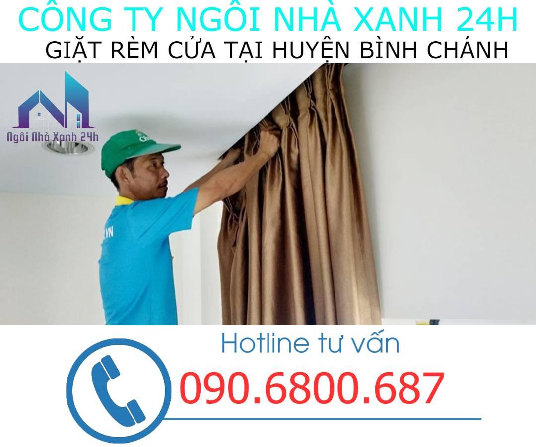 Có nên tự giặt rèm cửa tại nhà Huyện Bình Chánhkhông