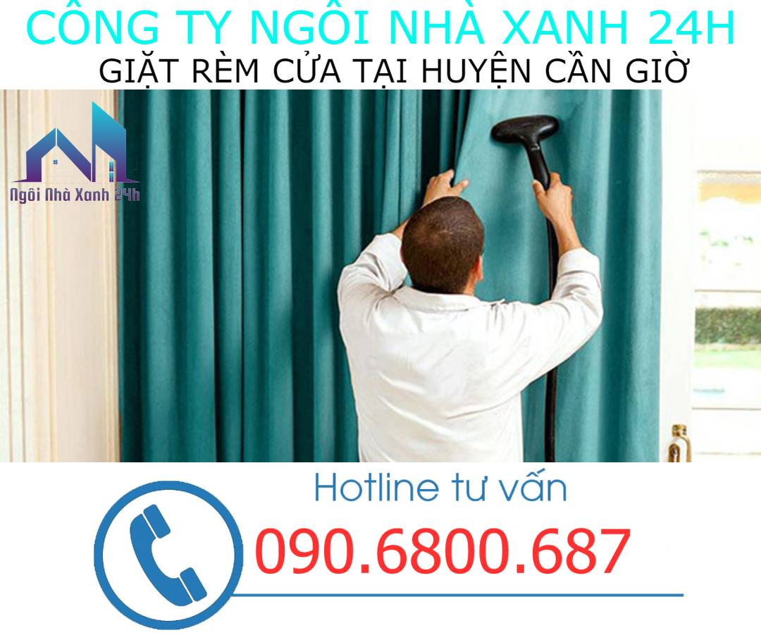 Có nên tự giặt rèm cửa tại nhà Huyện Cần Giờkhông