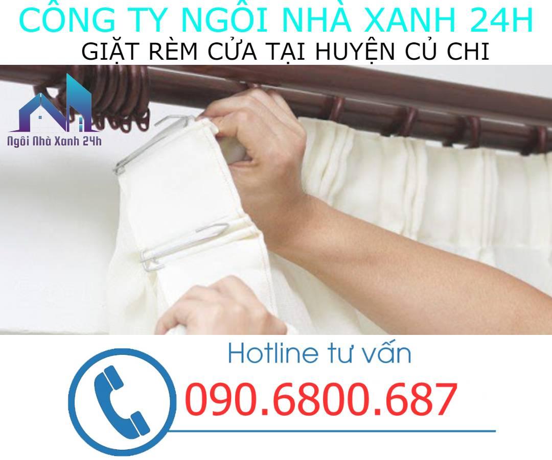 Có nên tự giặt rèm cửa tại nhà Huyện Củ Chikhông