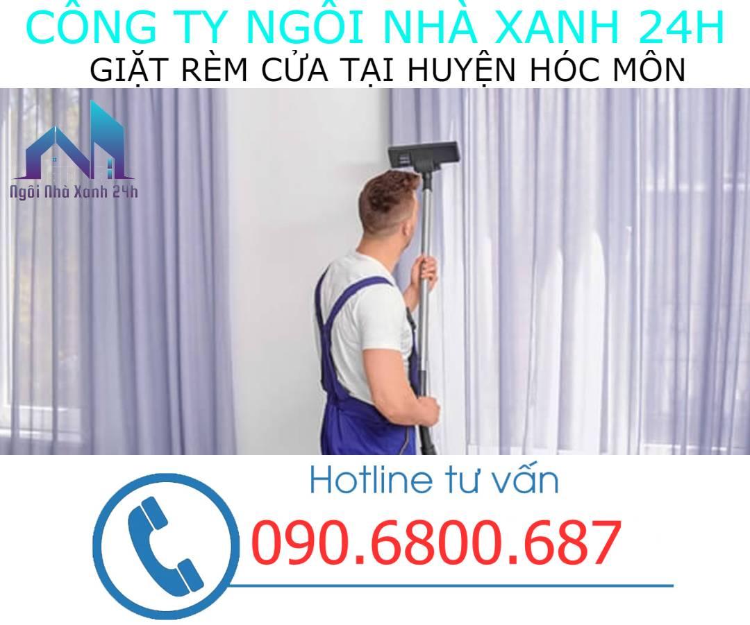 Có nên tự giặt rèm cửa tại nhà Huyện Hóc Mônkhông