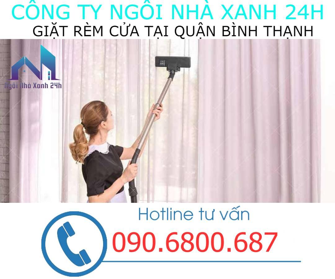 Có nên tự giặt rèm cửa tại nhà quận Bình Thạnhkhông